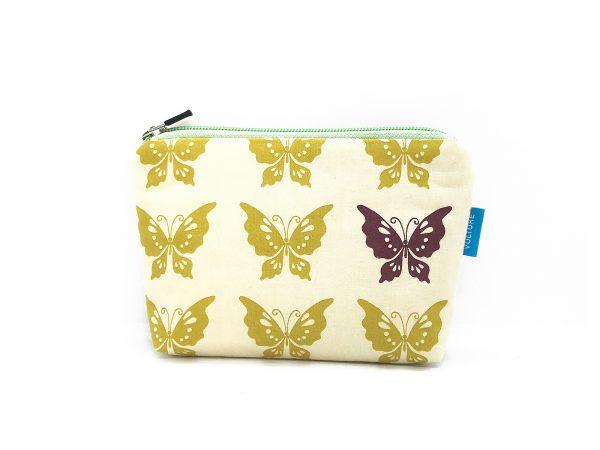 Kulturbeutel mit Schmetterlingen