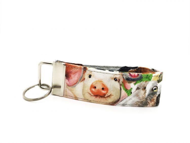 Schlüsselband Schweinchen