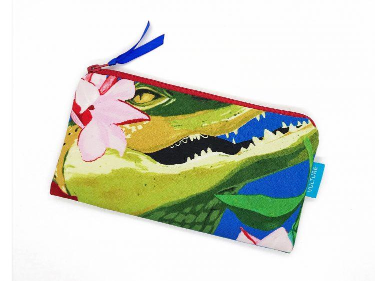 Stiftetasche Motiv Krokodil