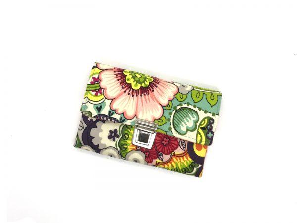 Portemonnaie mit Blumen
