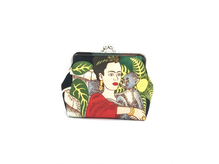 Clipbörse Frida mit Affe